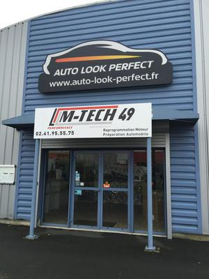 Facade magasin Auto Look Perfect