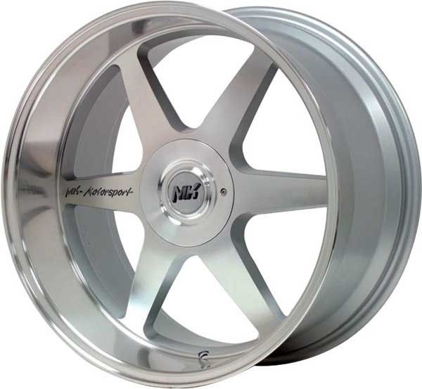 jantes alu mk motorsport silver polished pour bmw s rie 3 e46 06 1998 03 2005 moins ch res. Black Bedroom Furniture Sets. Home Design Ideas