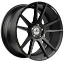 2 Jantes Supreme Wheels SP.01 Matte Black 8,5x19 + 2 Jantes 9,5x19