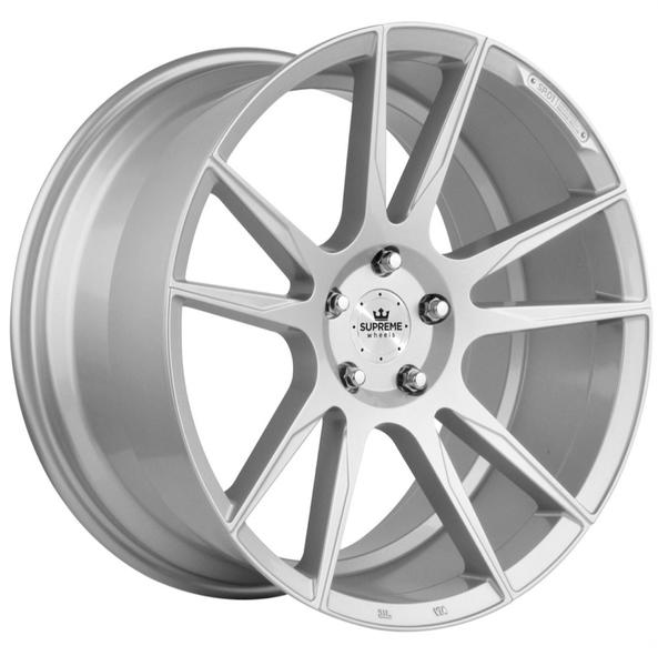 Jante Supreme Wheels SP.01 Silver pour Bmw Série 3 (E90,E91,E92,E93) à partir de 03/2005 par Auto Look Perfect
