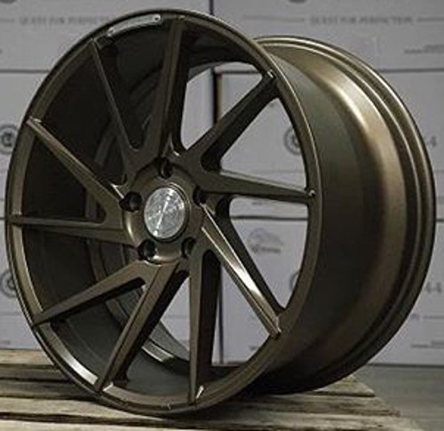Jantes Alu Quantum44 S5d Matt Bronze Pour Audi A4 B8