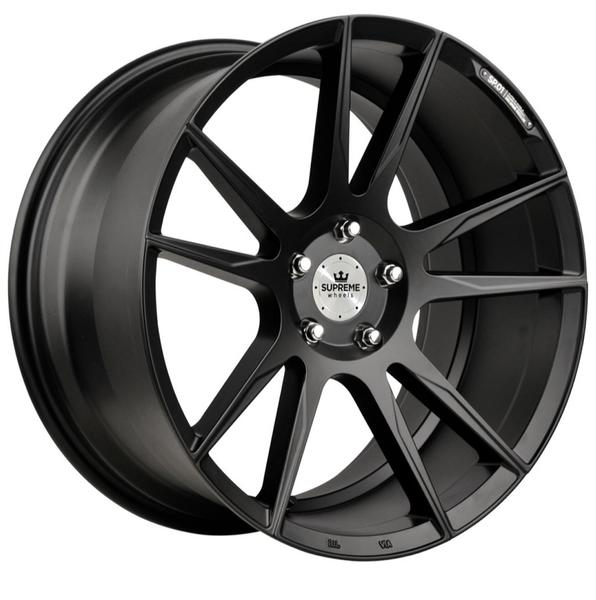 Jante Supreme Wheels SP.01 Matte Black pour Bmw Série 3 (E90,E91,E92,E93) à partir de 03/2005 par Auto Look Perfect