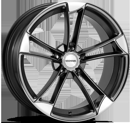 Jantes Alu Veemann Vm1 Saphire Grey Pour Audi S3 8v 2013 Moins